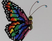 Rainbow Monarch Pattern and Tutorial