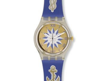 Swatch Blue Anchorage GK140  - NEW OLD STOCK - with Original Box
