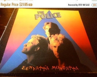 Save 70% Today Vintage 1980 Vinyl LP Record Zenyatta Mondatta The Police Very Good Condition 1290