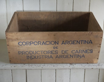 Vintage Wooden Crate