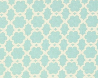 "20% OFF SALE FABRIC Remnant - Kumari Garden Tarika Blue Collection by Dena Designs,  - 15.5""x62"""