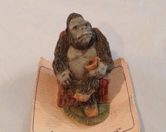 Gorilla figurine etsy - Gorilla figurines ...
