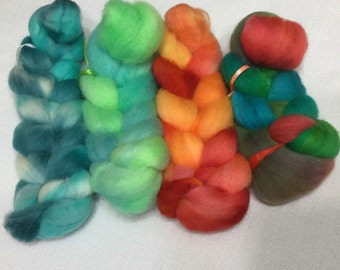 Hand Dyed Wool Sampler, Trial Size, 01560