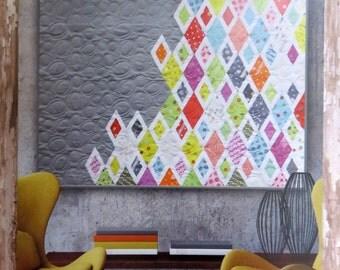 Diamonds & Grey Quilt Pattern - Zen Chic - Brigitte Heitland - Moda - DGQP