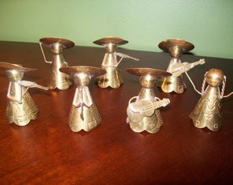 Adorable Miniature Brass Mariachi Band