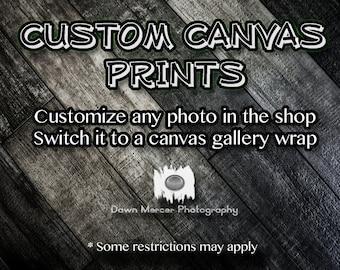 Custom Canvas Prints, Gallery Wrap Canvas Print, Fine Art Gallery Wrap Wall Prints