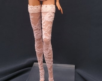 Dolls stockings/socks for Vintage Barbie Barbie, Silkstone - No.1128-09
