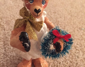 Lamb A Christmas Ornament