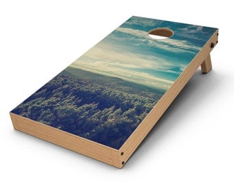Country Skyline - Cornhole Board Skin Kit