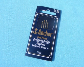 Anchor Gold Tapestry Needles -size 20