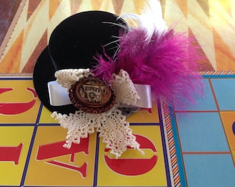 Victorian #steampunk #vintage #gothic #top hat#cosplay#costume accessory