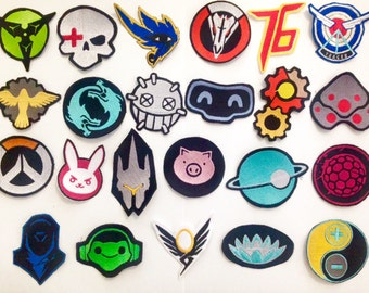 Full set of overwatch patches