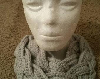 Handmade Crochet Necklace/ Scarf