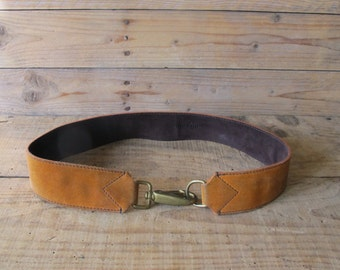 Vintage 90s Miu Miu suede leather Belt