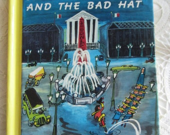 Madeline and the Bad Hat, 1992 copy, by Ludwig Bemelmans, childs book, hard cover, mailed from Canada
