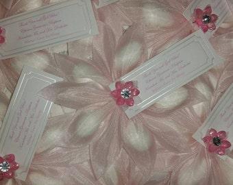 Wedding favors, Baby shower favors, Bridal Shower favors, 1st Communion, Quinceanera, koufeta, Sweet 16th, greek favors, italian favors