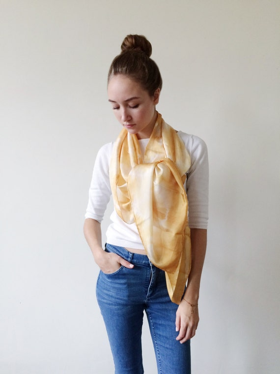 Yellow Scarves-Yellow Scarf-Long Scarf-Long Scarves-Wrap Scarf-Summer Cover Up-Sarong-Long Summer Scarf-Light Weight Scarf-Gift For My