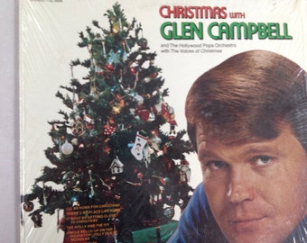 Christmas with Glen Campbell - vinyl record