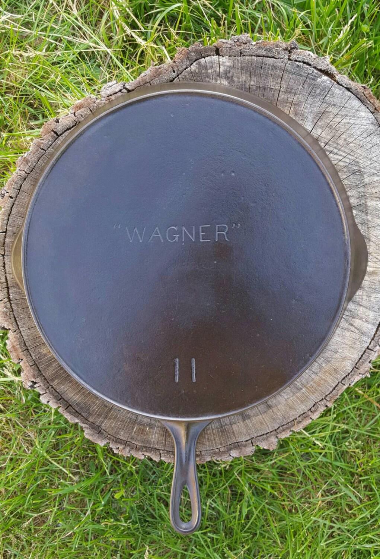 wagner 11 1900 39 s cast iron skillet clean organic. Black Bedroom Furniture Sets. Home Design Ideas
