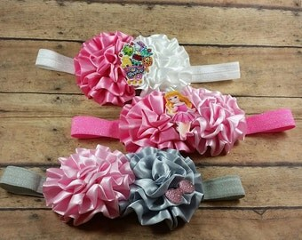 Shopkin Headband, Girls Headbands, Princess headband