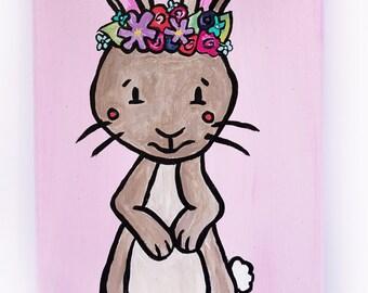 Little Floral Rabbit