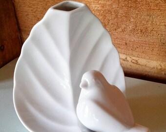Vintage Bavaria Tirschenreuth porcelain vase West Germany