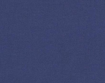 Moda Bella Solids- Admiral Blue, Fabric by the Yard