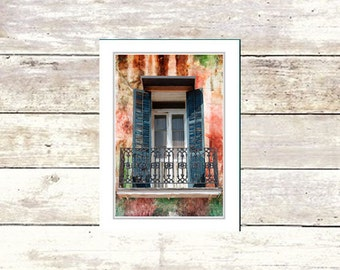 French Quarter Scenes, New Orleans, Handmade,  Blank Greeting Cards, Suitable For Framing, Fine Art Cards