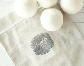 100% Wool Dryer Ball Set