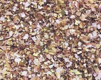 Rustic Pink Wedding Confetti Mix Biodegradable Rose Gold Blush InsideMyNest (25 Guests)