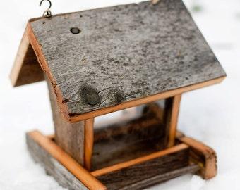 Barn Wood Bird Feeder