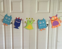 Large little monsters theme banner