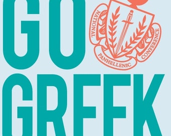 All Fraternities available. All Greek letters