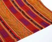Ikat Fabric (#26) from Guatemala - All Cotton - Handwoven - sold by the yard