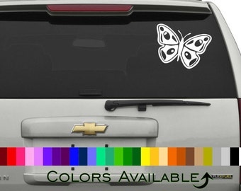 Pretty Butterfly Car Decal