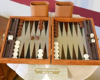 Travel Size Backgammon Game