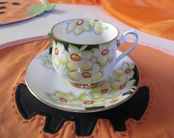 ENGLAND PHOENIX TEACUP and Saucer Set