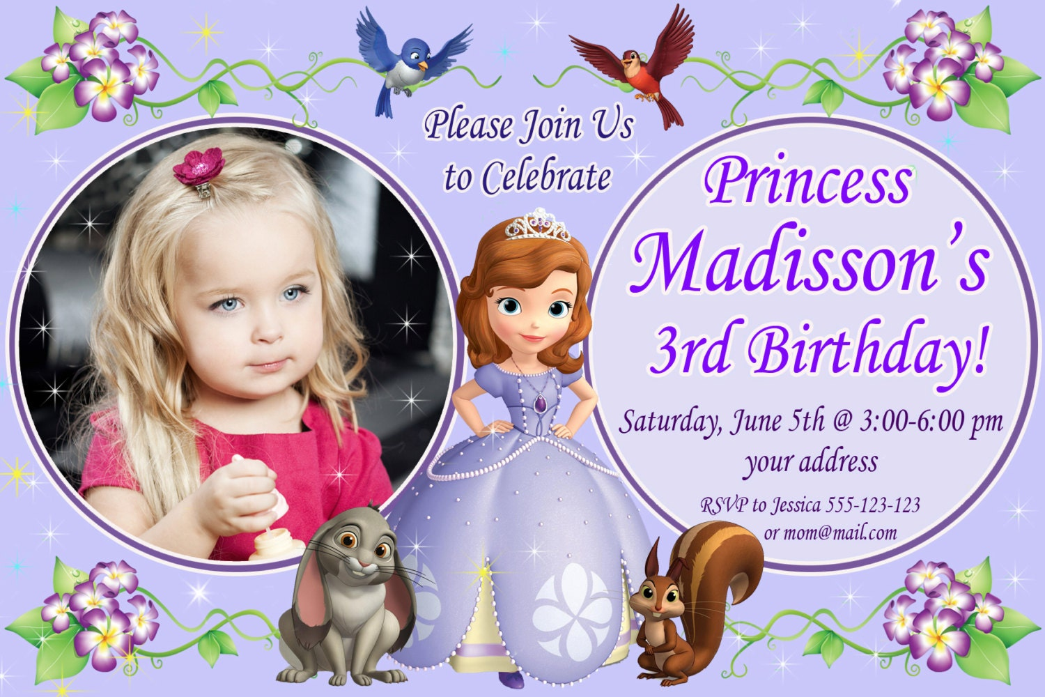 Birthday Invitation Format 1St Birthday | haywardtoytv