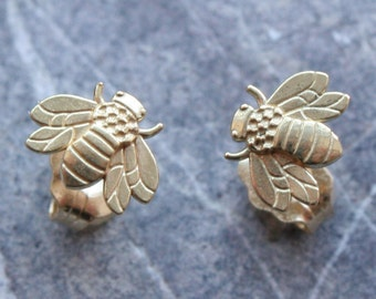 Bumble Bee Bumblebee Studs available in Sterling Silver, Gold, Platinum