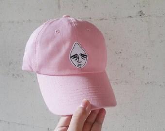 Gloomy Patch Cap - sad face