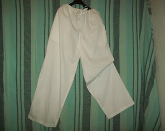 yoga drawstring pants 100 % cotton