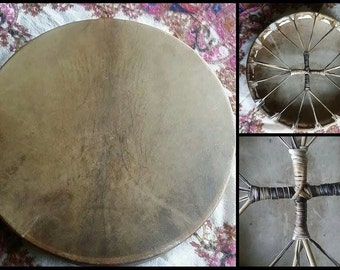 "16"" Stag Shamanic Drum - Made to Order"