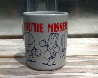 Vintage OSCAR MEYER Company Employee Ceramic Mug 1988
