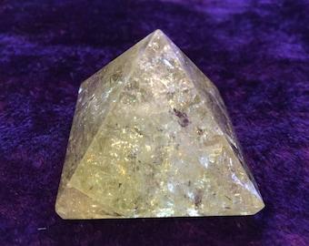 Citrine Pyramids