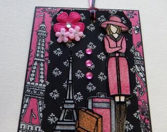 2 in 1 Parisian Card and Tag