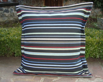 READY to SHIP Ticking Stripe Pillow Cover Farmhouse Decorative Pillow Cottage Chic
