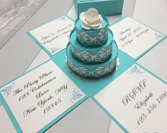 Sweet 16 Invitations Sweet 16 Party Sweet 16 Invitations Sweet 16 Turquoise Sweet 16