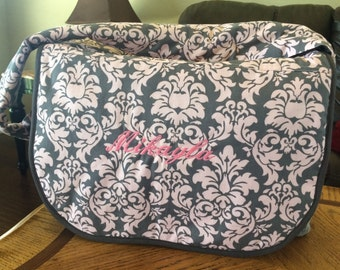 XLarge Diaper Bag, Custom Diaper Bag