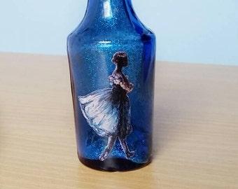 Blue Ballerina Bottle