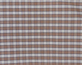 Plaid Upholstery Fabric 3+ yards